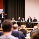 v.l.n.r. Prof. Dr. Achim Spiller, Dr. Stefanie Heinecke, Dr. Christina Münch, Volker Wulff, Hubert Schulze Hobeling, Jan Tönjes