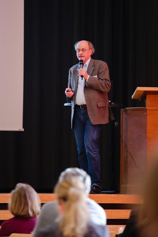 Prof. Dr. Gerhard Breves moderierte im Fütterungsteil